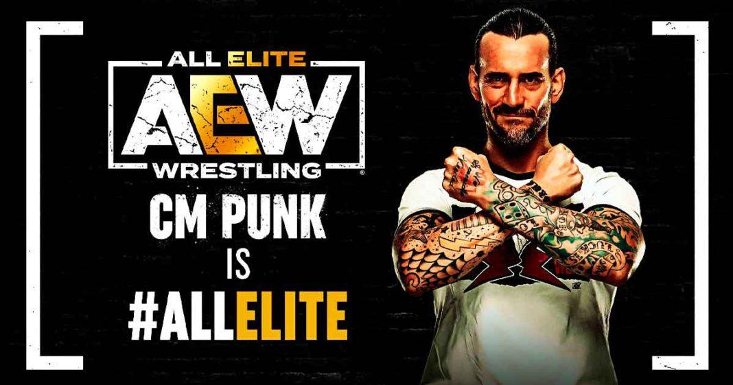 Es Oficial CM Punk regresa a la lucha libre y firma con AEW