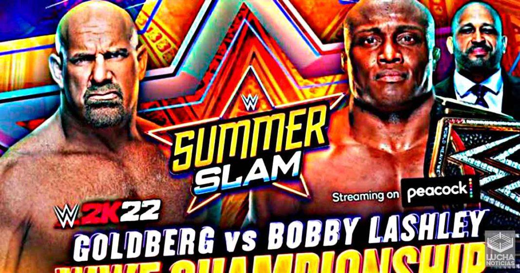 Es Oficial: Goldberg vs Bobby Lashley en SummerSlam por el campeonato de la WWE
