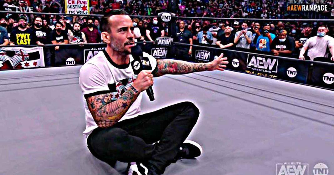 Esta en AEW para quedarse. Punk dice que nunca iba a poder evolucionar o estar mentalmente sano de quedarse en el sitio en el que estaba, en referencia a WWE.