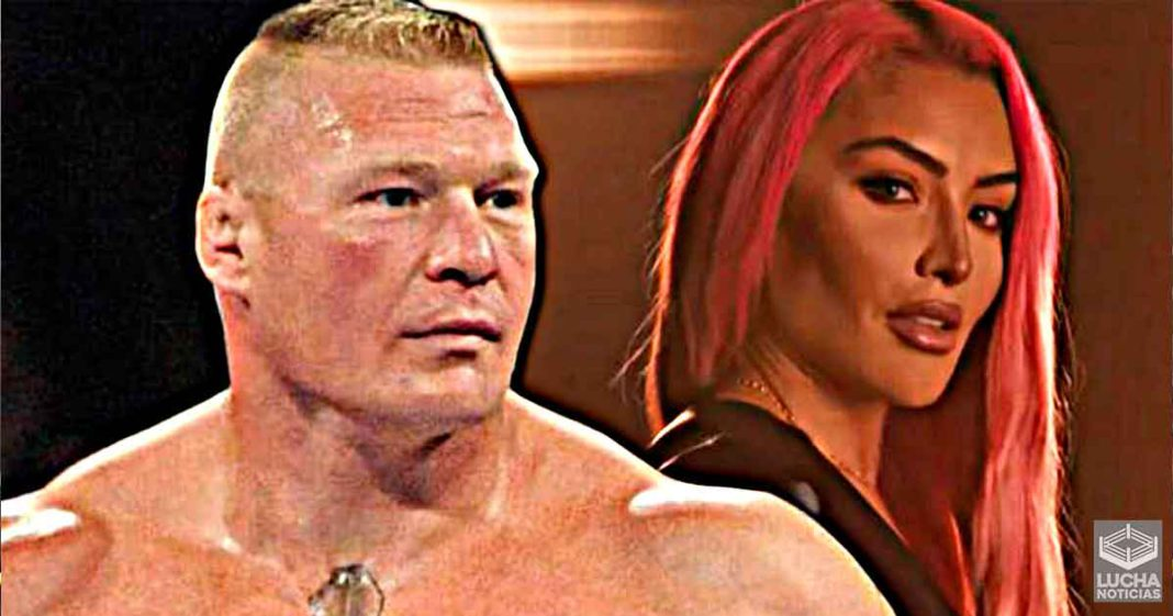 Eva Marie quiere ser la manager de Brock Lesnar