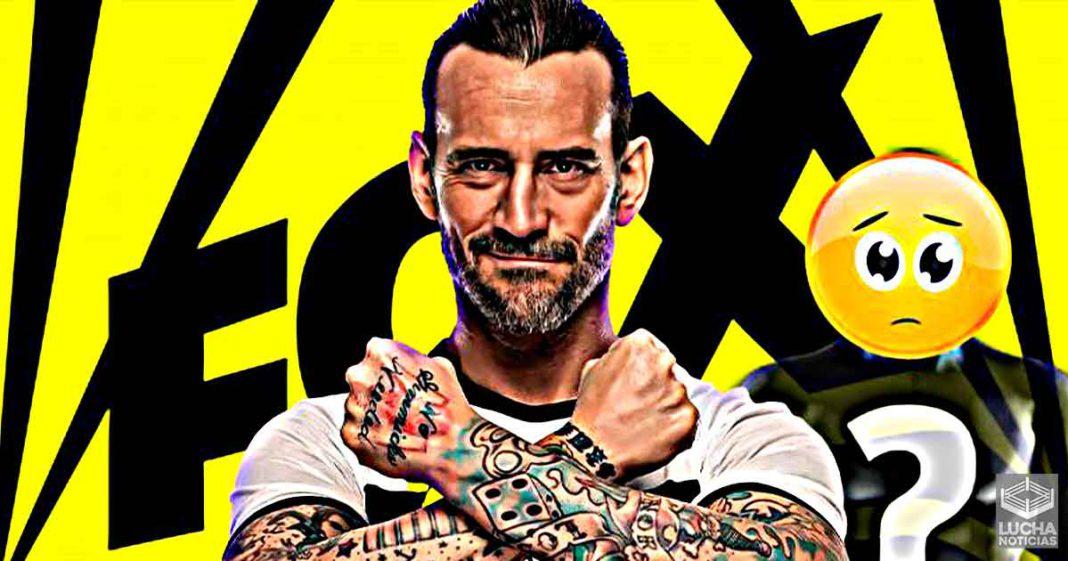 FOX molesta con WWE por no ofrecer un contrato a CM Punk