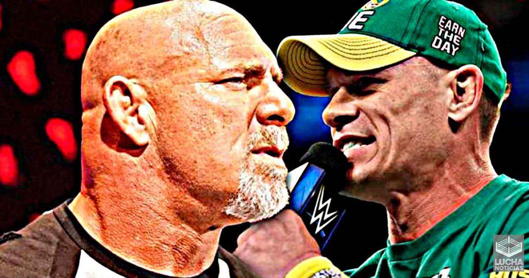 Goldberg quiere enfrentar a John Cena después de SummerSlam