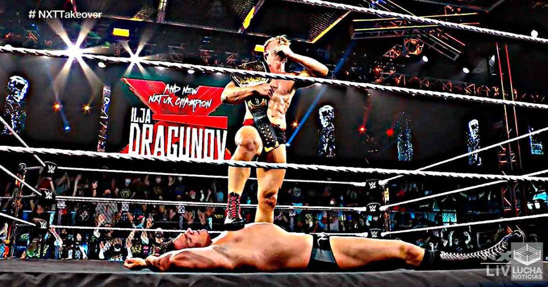 Ilja Dragunov vence a WALTER y es el nuevo campeón de NXT UK