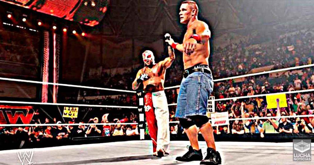 John Cena está ayudando a entrenar a Dominik Mysterio