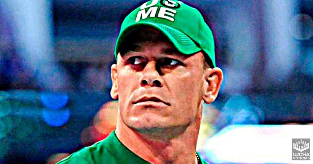 John Cena le dijo a luchador estelar de WWE que no puede vender mercancía