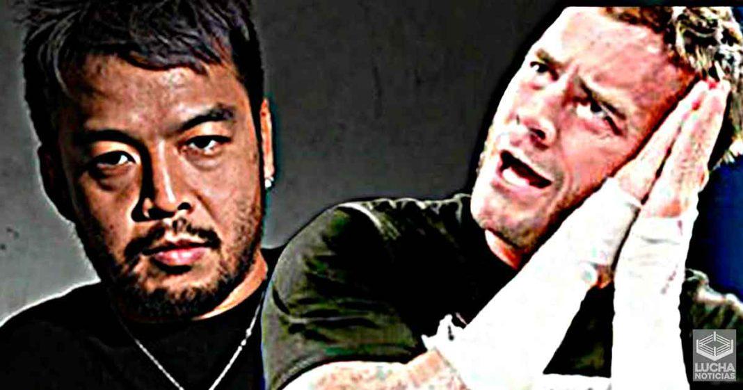 Kenta quiere una lucha en contra de CM Punk