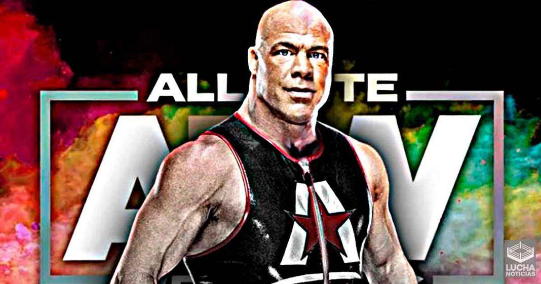 Kurt Angle trolea a los fans con su posible llegada a AEW
