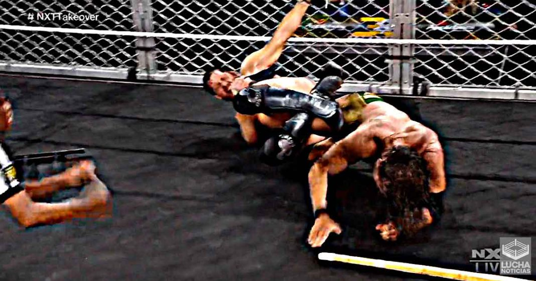 Kyle O'Reilly vence a Adam Cole en WWE NXT TakeOver: 36