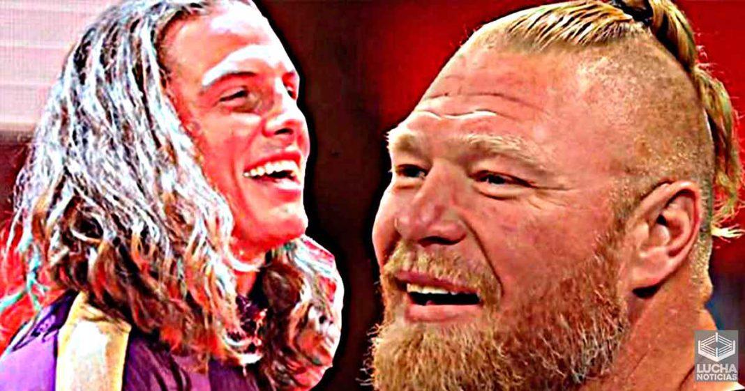 Matt Riddle se burla del nuevo peinado de Brock Lesnar