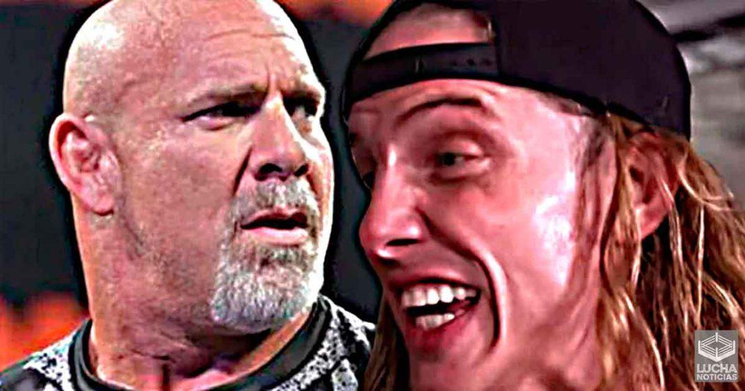 Matt Riddle se encuentra con Goldberg en RAW y esto pasó