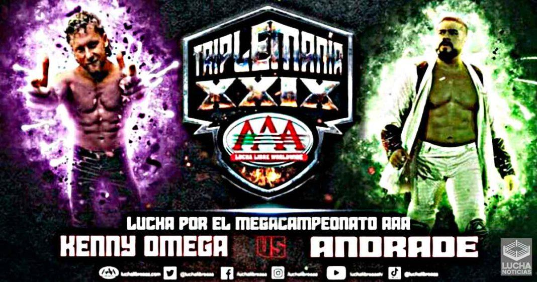 Planes originales para Andrade y Kenny Omega en TripleMania XXIX