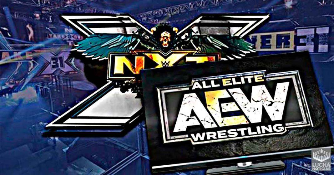 Productores de WWE son atrapados viendo AEW Dynamite mientras grababan NXT