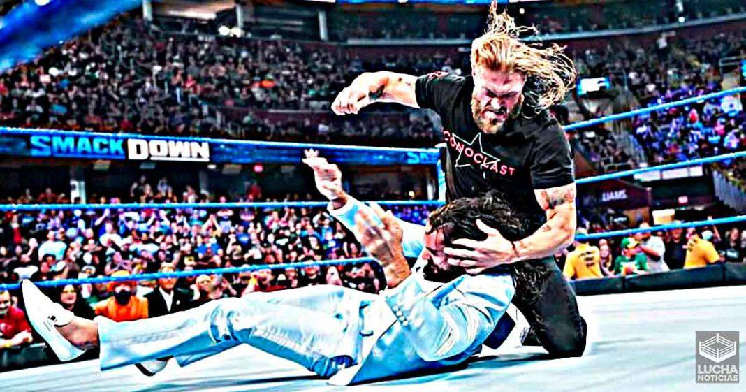 Qué pasó entre Seth Rollins y Edge en 2014