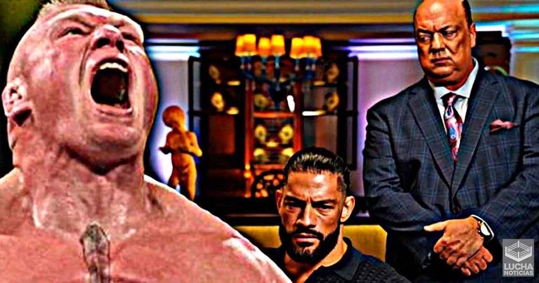 Roman Reigns no está preocupado de que Paul Heymen regrese con Brock Lesnar