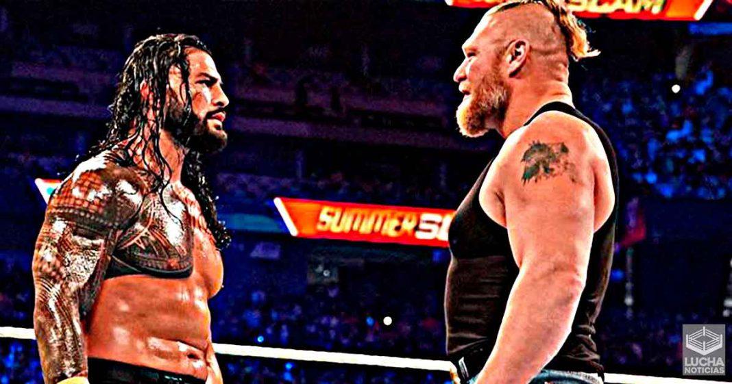 Roman Reigns reacciona al regreso de Brock Lesnar