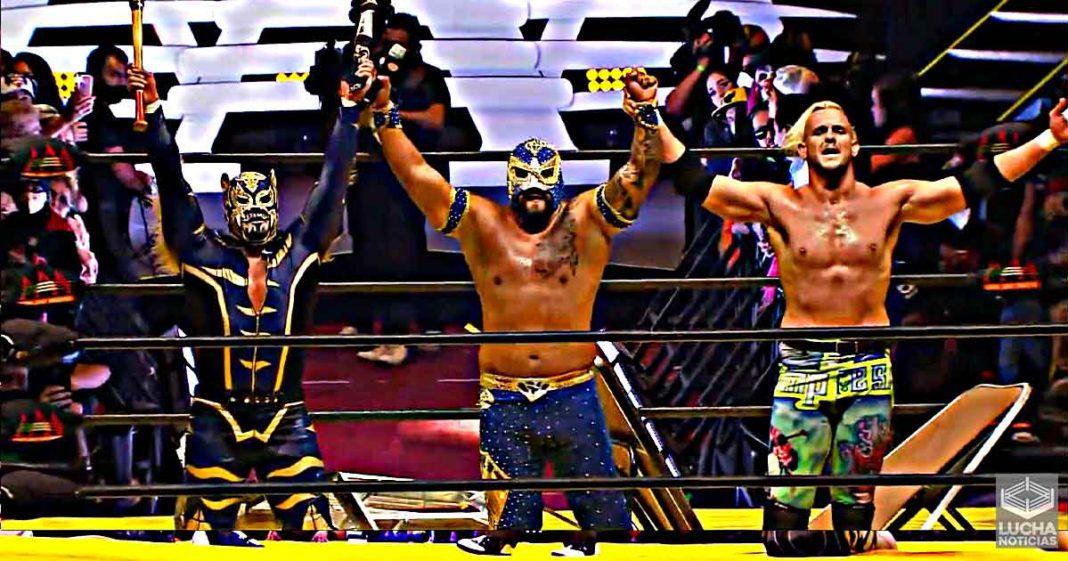Sam Adonis, Puma King y DMT Azul vencen a Pagano, Murder Clown y Chessman en TripleMania XXIX