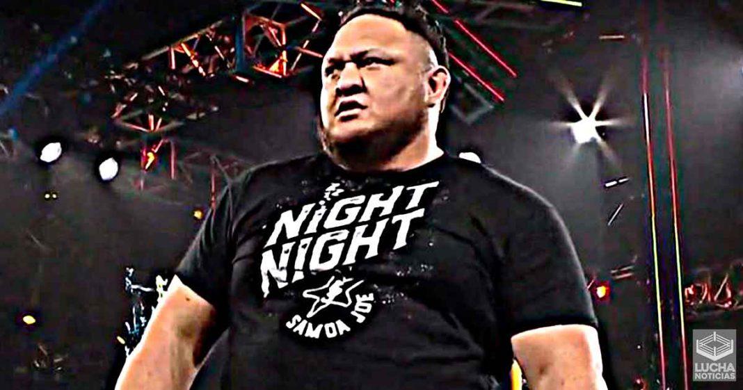 Samoa Joe quería regresar a WWE NXT desde hace años