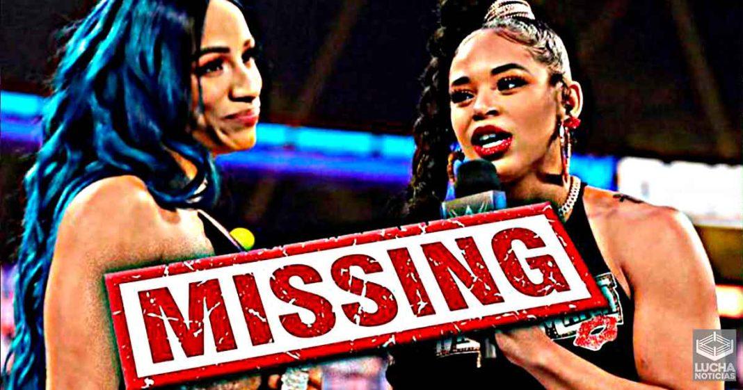 Sasha Banks y Bianca Belair faltan a dos house shows por