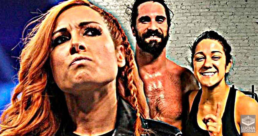 Seth Rollins dice que tiene más química con Bayley que con Becky Lynch