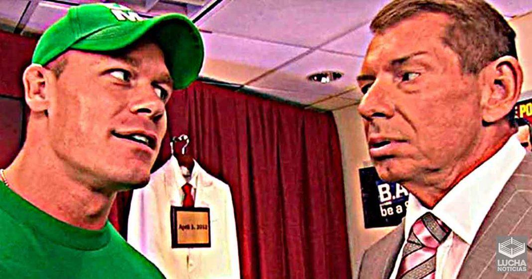 Solo John Cena logra impresionar a Vince McMahon