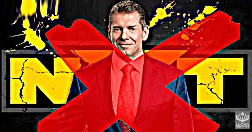 Vince McMahon nunca estuvo para las grabaciones de WWE NXT