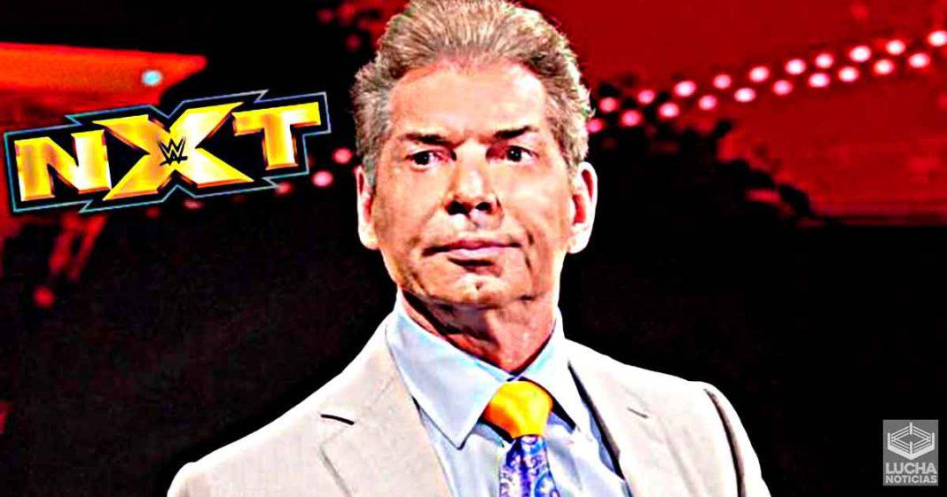 Vince McMahon quiere mantener lejos al talento de NXT del elenco principal