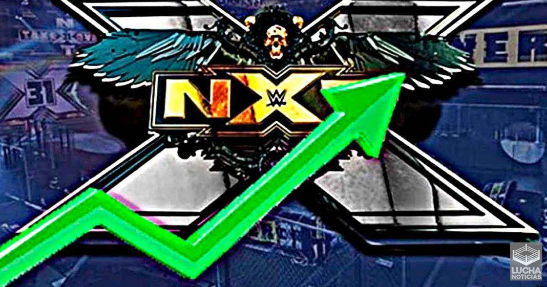 WWE NXT tiene un gran incremento en sus ratings