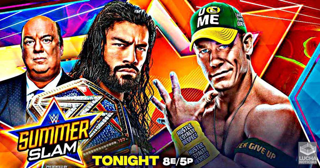 WWE SummerSlam en vivo, Cobertura y Resultados 21 de agosto