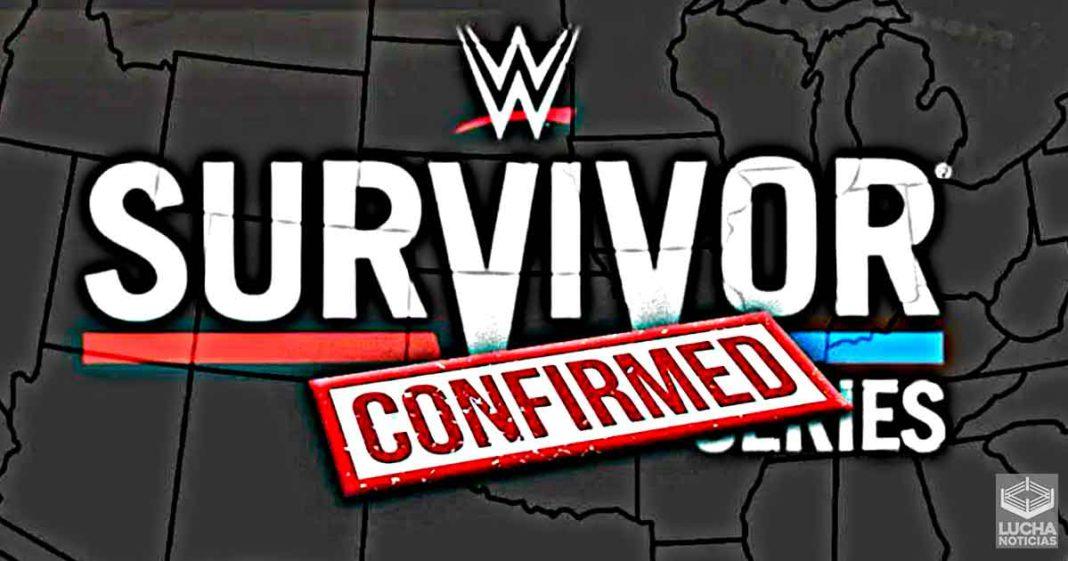 WWE confirma fecha y lugar para Survivor Series 2021