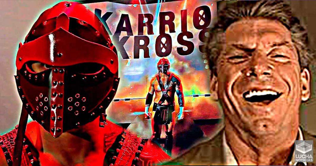 WWE destruye el personaje de Karrion Kross en RAW