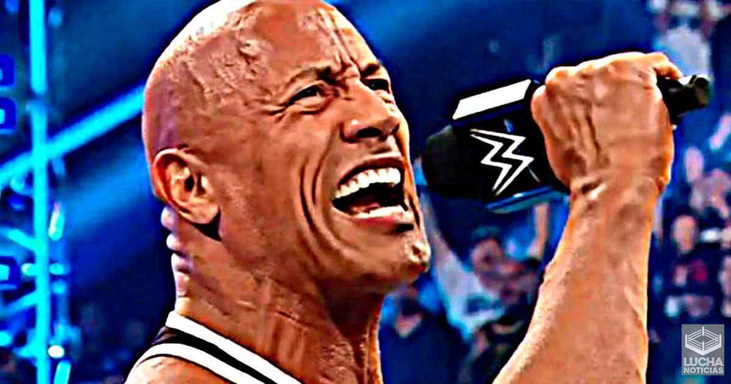 WWE está en constante comunicación con The Rock