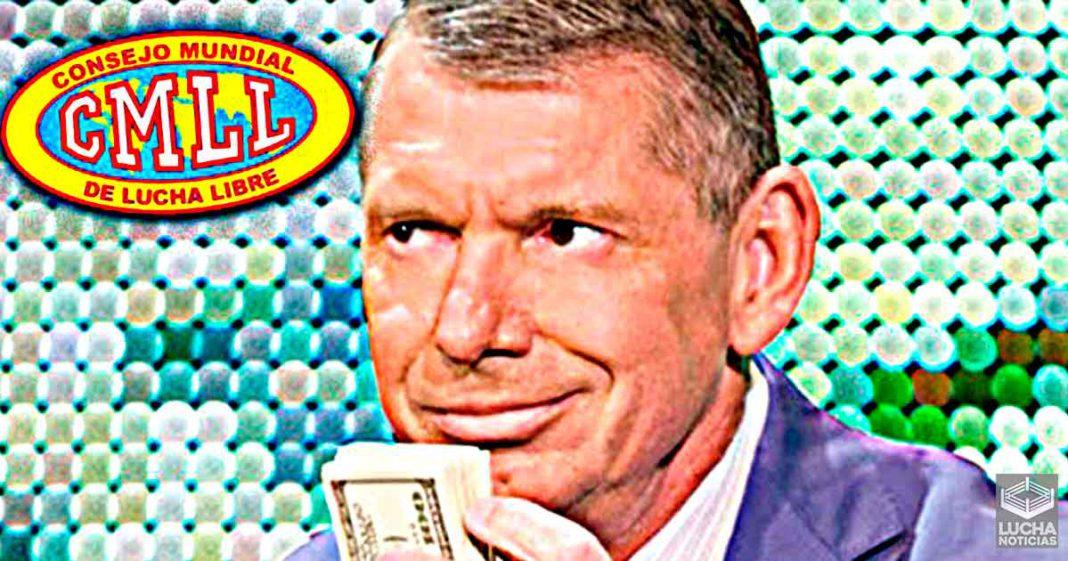 WWE estuvo en platicas para comprar CMLL y su elenco de luchadores