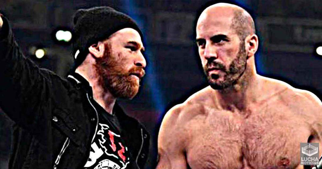 WWE no tiene idea de que hacer con Cesaro y Sami Zayn