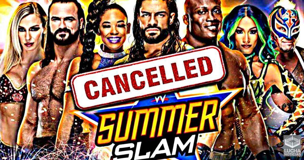 WWE podría cancelar SummerSlam y realizarlo en el Performance Center