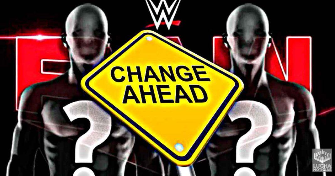 WWE tomó varias decisiones de último minuto en RAW esta semana