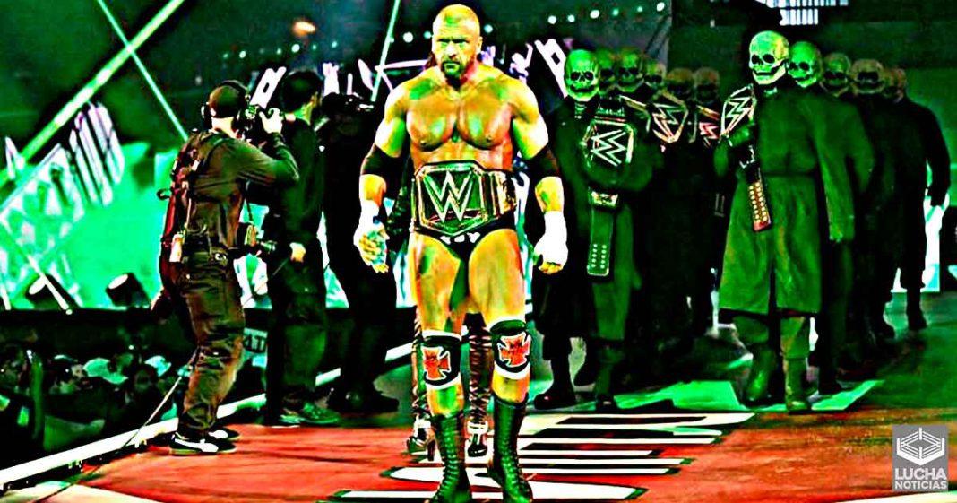 Actual campeón intentó luchar contra Triple H en WrestleMania 37