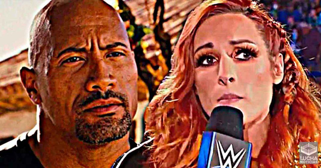 Becky Lynch quiere ser igual de grande que The Rock en Hollywood