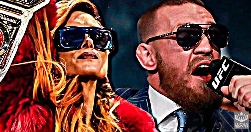 Becky Lynch se compara con Conor McGregor
