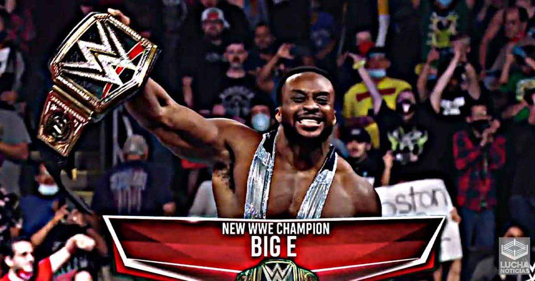 Big E canjea su maletín de MITB y es el nuevo campeón de la WWE