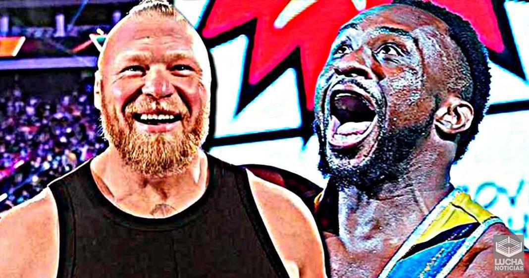 Big E dice que Brock Lesnar es rico por hacer cosas que son aburridas para él