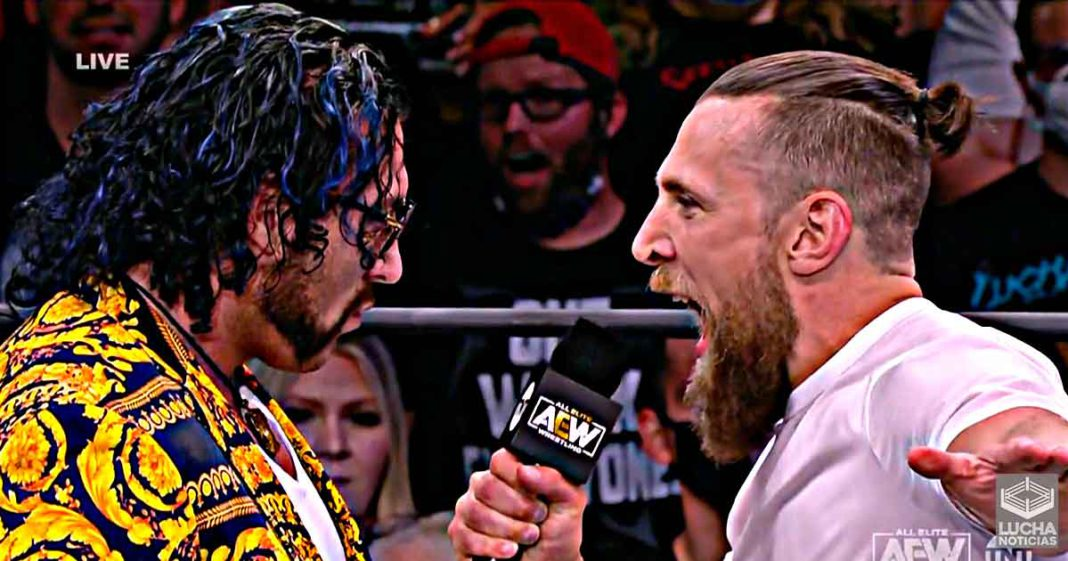 Bryan Danielson quiere una lucha contra Kenny Omega
