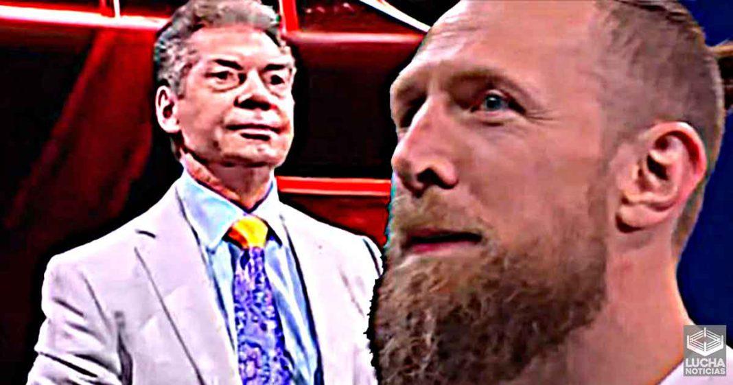 Bryan Danielson tiene un lista completa de lo que aprendió de Vince McMahon