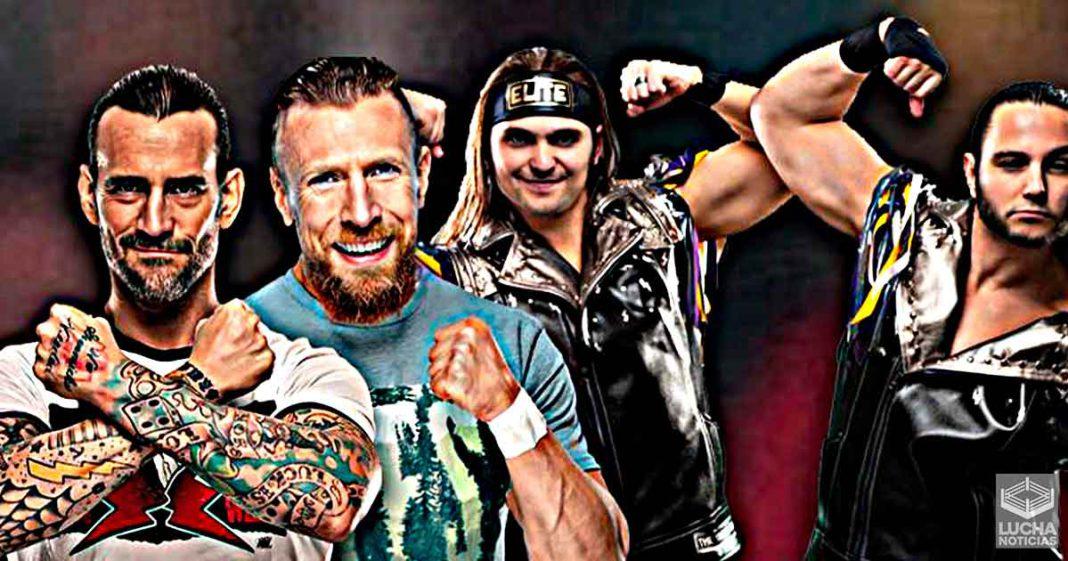 CM Punk quiere hacer equipo con Daniel Bryan y vencer a los Young Bucks