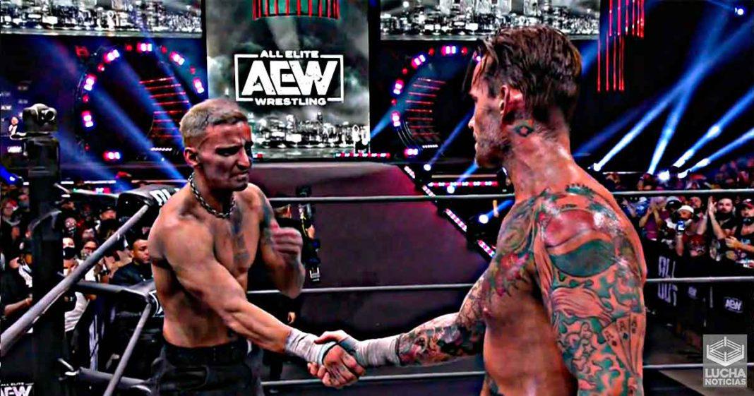 CM Punk vence a Darby AllIn en AEW All Out