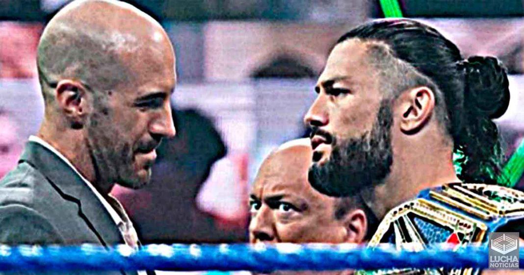 Cesaro se sentia decepcionado de su rivalidad con Roman Reigns