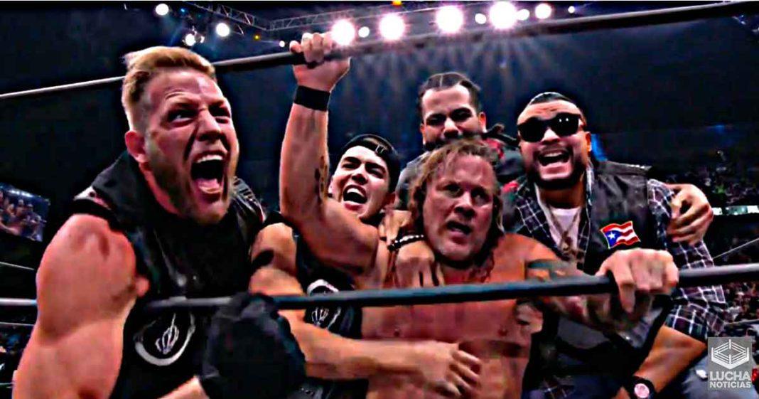 Chris Jericho vence a MJF en AEW All Out