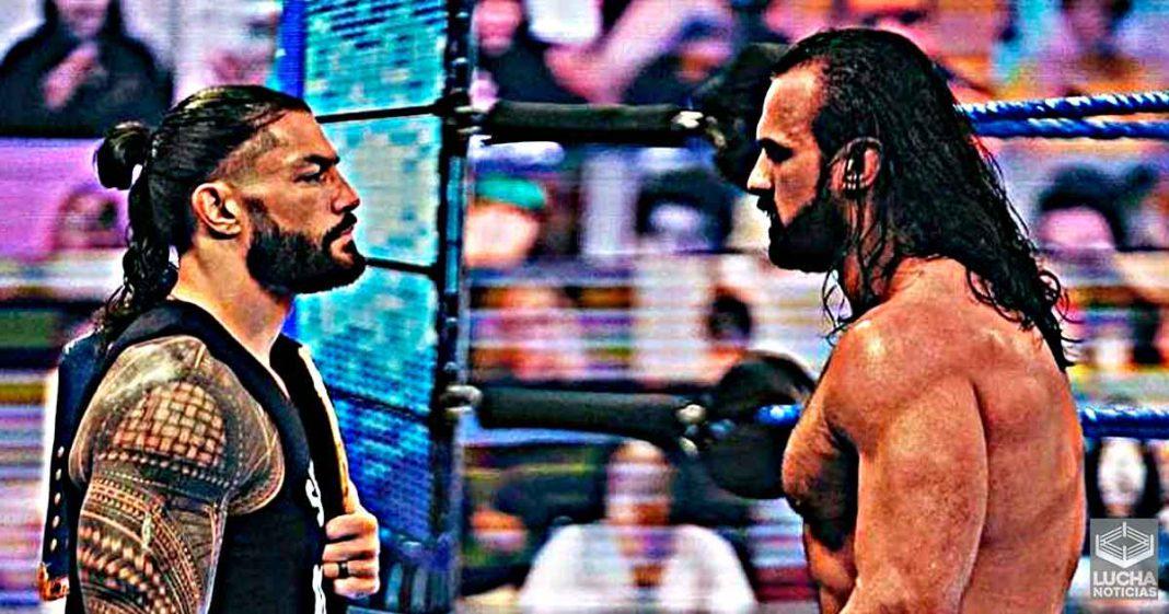 Drew McIntyre quiere otra rivalidad con Roman Reigns
