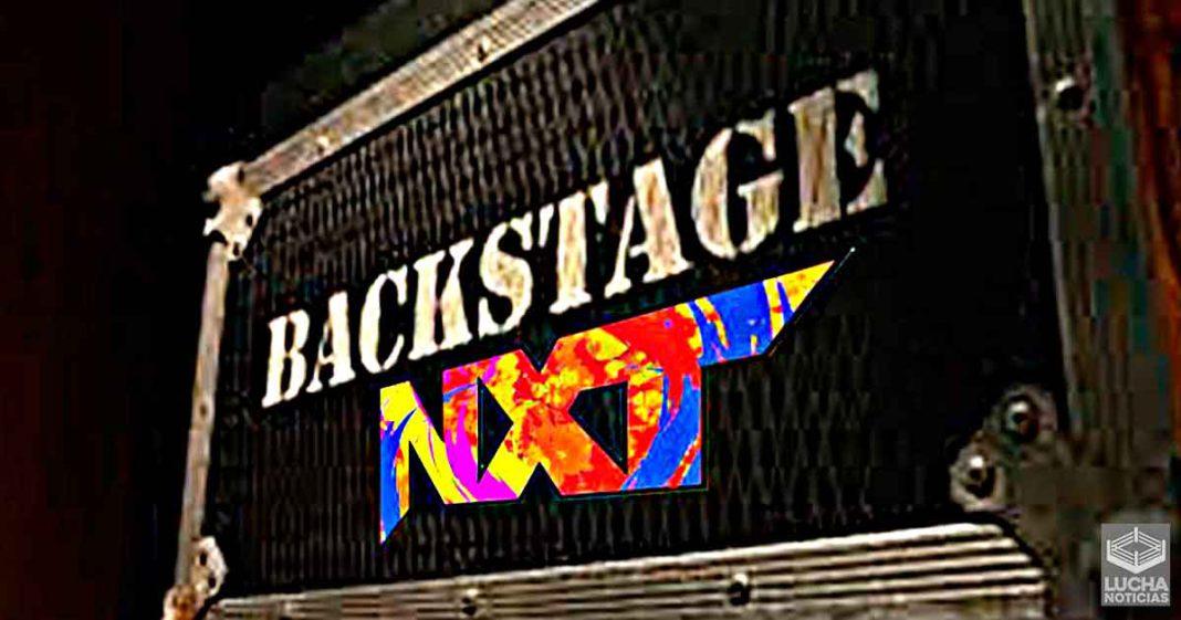 El ambiente en el backstage del nuevo WWE NXT es extraño