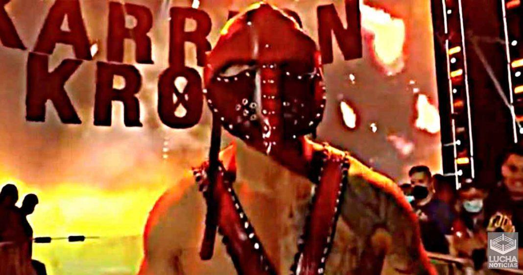 El nuevo personaje de Karrion Kross era originalmente para los Bludgeon Brothers