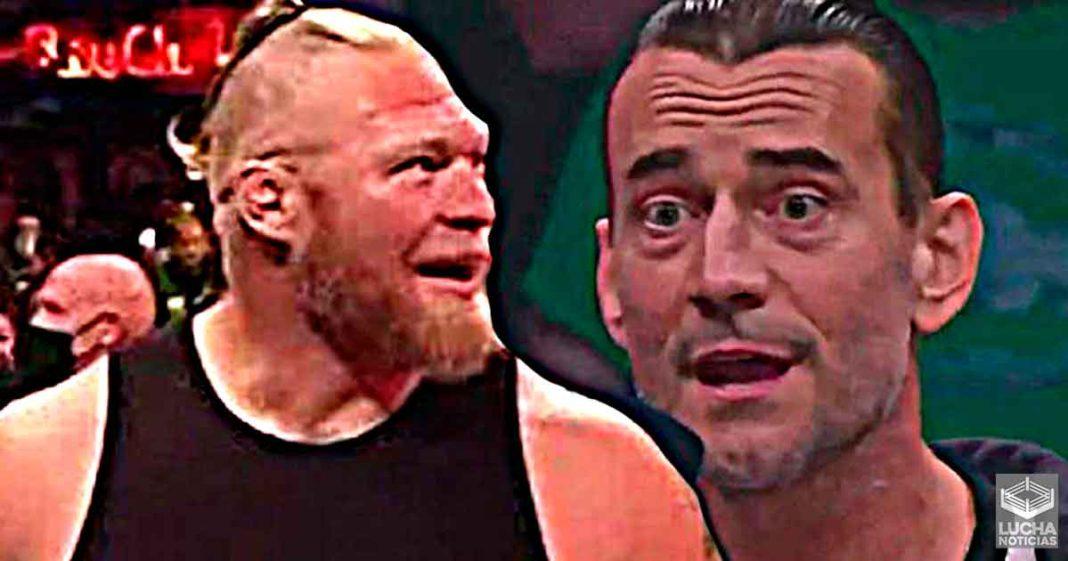 El regreso de Brock Lesnar arruinó el debut de CM Punk en AEW